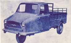 Motoemil three-wheel truck (1967 model)